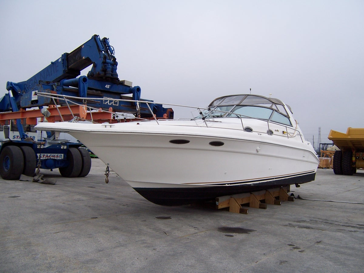 Export a boat from USA