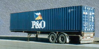 Cargo container shipping