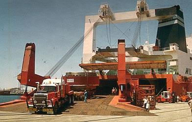 Moving Heavy Machinery Overseas