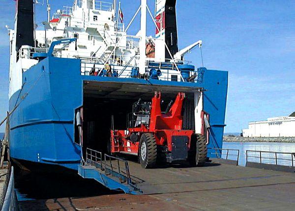 shipping equipment to Australia
