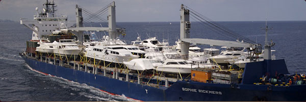 boat shipping overseas