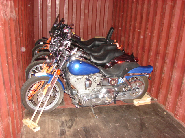 shipping motorcycles overseas