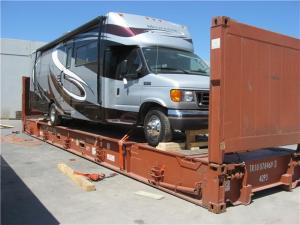 motorhome shipping to Australia from USA