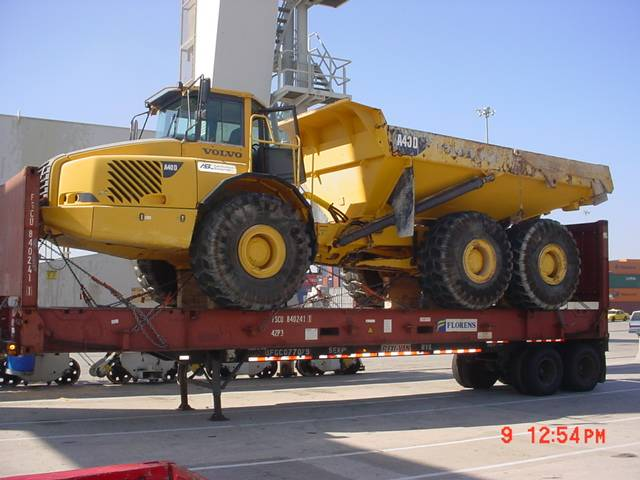 Truck Shipping To Australia